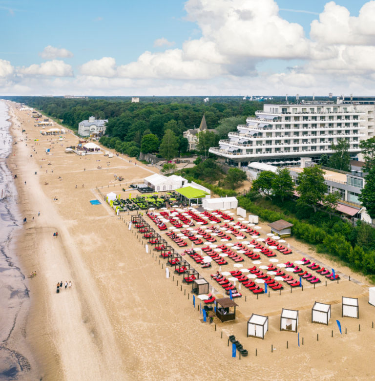 Baltic Beach Hotel beach side